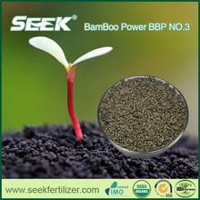SEEK npk 12-12-17 2mgo fertilizer replaced by bamboo organic fertilizer