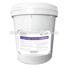 Mineral fiber spray-applied mixed spray adhesive