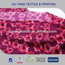 Tricot Terylene Lycra Colorful Printed swimwear spandex fabric