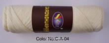 Colored fancy yarn spandex covered polyester fancy yarn