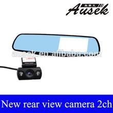 Ausek New 4.3inch Wide Screen FULL HD 1080P Vehicle auto Mirror Camera Recorder dvr