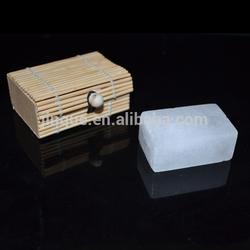 bamboo box packaging alum block wholesale