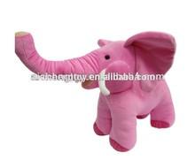 Cute elephant plush toy popular style plush elephant doll