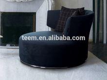 Modern round shape sofa chair home cinema sofa