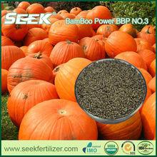 SEEK organic chicken manure fertilizer replaced by bamboo organic fertilizer