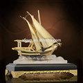 Réplica fábrica de Metal troféu navio em miniatura modelo em escala