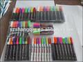 Tiza líquida marcadores - nueva REVERSIBLE punta - pizarra Paint Pen 8 Pack 2 regalos gratis - uso cincel punta o punta redonda - brillante