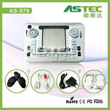 low frequency electronic pulse massager AS979 for pain relief