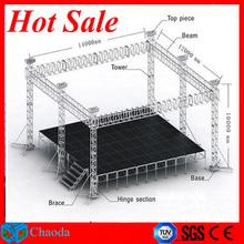 2014 hot sale Cheap CE,SGS ,TUV cetificited aluminum steel truss bridge