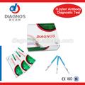 El soporte de oem! Médicos de diagnóstico hp kits de prueba de/h. Pylori anticuerpo desechables prueba de la tarjeta