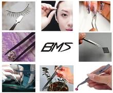 eye tweezer normal length 115mm-140mm shenzhen BMS eye tweezer professional produce all purpose tweezer