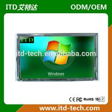 VGA DVI HDMI open frame 32 inch lcd panel