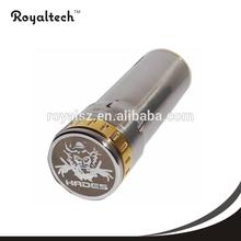 2014 new product copper e cigarette mechanical mod hades mod clone 26650 popular in US market