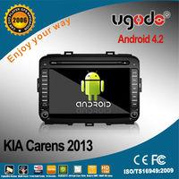 android GPS navigation for Kia Carens 2013 DVD player with GPS radio bluetooth 3G WIFI