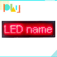 12*48 2014 new fashion digital USB multi-function LED name card