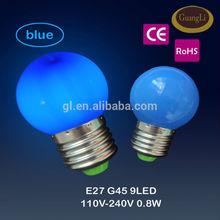 e27 b22 50-60hz ce rohs christmas led lights home decor led light mini christmas light bulbs