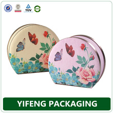 China supplier luxury cardboard suitcase makeup kit with handle