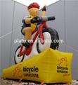 Publicidade inflável bicicleta, Desenhos animados infláveis player