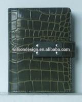 portfolio/ Leather fashion organizer notebook