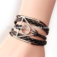 MYLOVE black men bracelet rope jewelry handmade MLBZ033