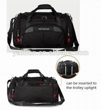 2014 fashion waterproof gym duffel bag with cross body strap