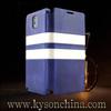 Stripe flip case for samsung galaxy note 3, for galaxy note 3 custom case