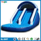 gaint inflatable water slide with pool