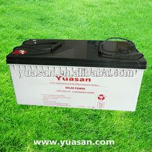 Yuasan Professional 12V Lead Acid Solar Gel Deep Cycle Battery-NPS200-12
