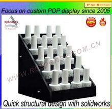 OEM Customized retail custom POP tiers acrylic e-liquid display stand