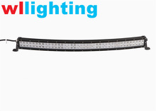 50 inch 288W curved led light bar combo beam for off road 4x4 for f150 ford raptor, wl-8029-288W radius led light bar for truck