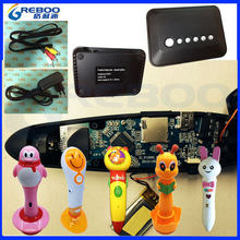 Latest OID wireless reading pen with 2.4G wireless bluetooth module transmission box & audio books