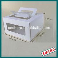 PVC windows art paper Cupcake boxes