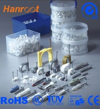 Hanroot electric wire wrap clips