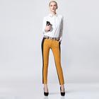 high quality yellow lady pants waist adjuster