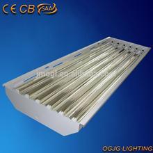 fluorescent high bay luminaire, T5 warehouse lighting, fluorescent sport light