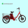 tricycle bike frame with cover with 36V 12Ah lead acid battery CE