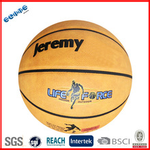 Official size pu material high quality cheap custom leather basketballs