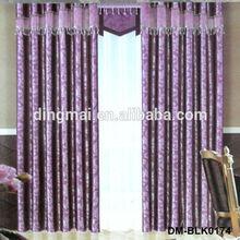 Luxury european style jacquard blackout royal curtains designs