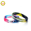 Debossed Silicone Bracelets Custom Silicone Products , 1 Inch Mixed Color