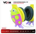 Para el niño y niña regalos niños coloridos lindos de auriculares