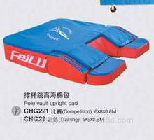 IAAF pole vault upright pad