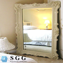 High quality bedroom decorative large mirrors, 3mm, 4mm, 5mm, 6mm