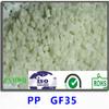35% fiberglass reinforced polypropylene pp granules for injection molding ,pp gf35 plastic raw material supplier,pp gf35