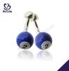 Number 2 purple billiards handmade wholesale cufflinks enamel