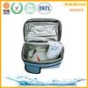 aluminum cooler bag thermal bag,6 pack cooler bag,silver insulated cooler bag