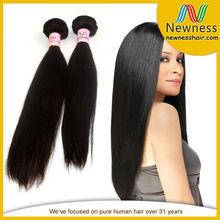 Wholesale Real 100% Virgin Peruvian Straight Weaves Hair Darling
