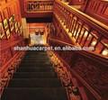 hotel de luxo escada corredor tapetes e carpetes