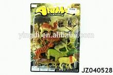 Plastic toy wild animal sets plastic wild animal toy small animals plastic toys
