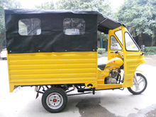 three wheel motorcycle for cargo and passenger dual