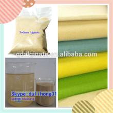 Textile Grade Sodium Alginate In Printing Industry Of QINGDAO LANNERET